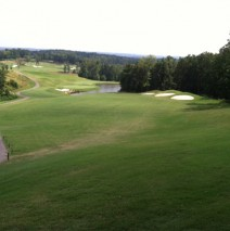 18th Hole From Fairway