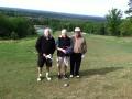 Edwards, Gresham & Jordan on hole #18